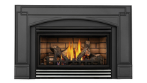 Roxbury 30 Direct Vent Gas Fireplace Insert with Stainless Steel Louvers