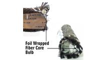 "1/2"" tadpole gasket with a semi rigid foil wrapped core."