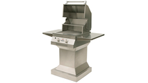 21 inch Solaire Infrared Pedestal Grill shown open