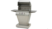 27 inch Solaire Infrared Pedestal Grill shown open