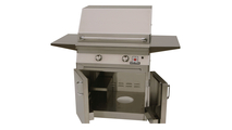 30 inch Solaire Cart Mount Grill shown with cart open