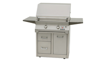 30 Inch Cart Mount Grill with drawers