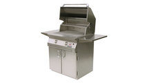 30 inch Solaire Cart Mount Grill shown open