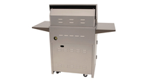 30 inch Solaire Cart Mount Grill backside