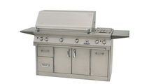 56 Inch Solaire Cart Mount Gas Grill shown with the premium A cart