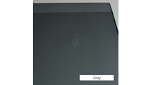 Grey Tempered Glass - Replacement Fireplace Door Glass