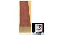 Merlot Red Firebrick Stain