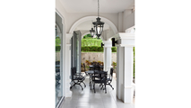 Anise Outdoor Pendant Room Setting