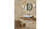1-Light Vanity Sconce with Opal White Glass Room Setting