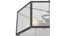 2-Light Spencer Organza PVC Shade