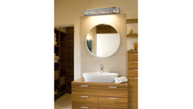 3-Light Braxton Vanity Sconce in Polished Nickel Room Setting