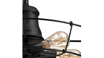 5-Light Glendora Right Side Bulb Example Closeup