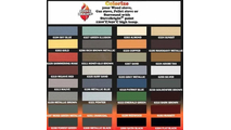 Gas Surround Color Chart