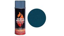 Metallic Blue Brown Stove Bright Spray Can