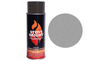 Pewter Gas Fireplace Surround Spray Can