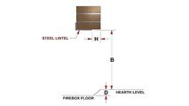 Steel Lintel & Firebox Depth