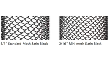 "Mesh Weave Comparison 1/4"" Weave To 3/16"" Weave"