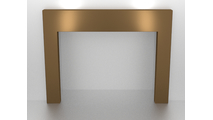 3 Sided Fireplace Surround In Aztec Gold