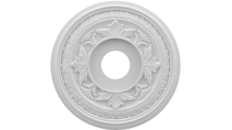 """1""""P Baltimore Thermoformed PVC Ceiling Medallion"""