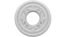 """3/4""""P Baltimore Thermoformed PVC Ceiling Medallion"""
