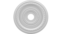 """1""""P Cole Thermoformed PVC Ceiling Medallion"""