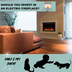Should you invest in an electric fireplace?