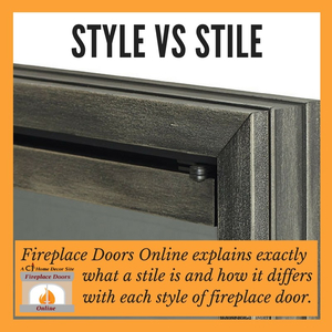 Fireplace Style vs. Fireplace Door Stile