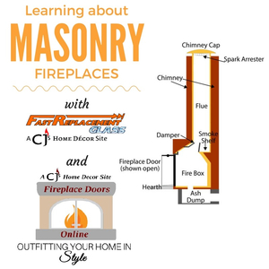 Learning about Masonry Fireplaces With Fast Replacement Glass and Fireplace Doors Online