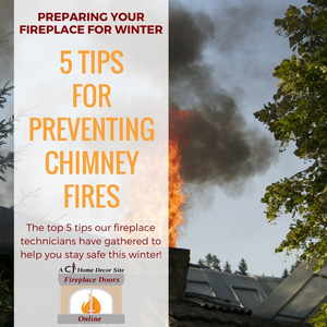5 tips for preventing chimney fires