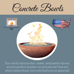 USA-Made Concrete Bowls