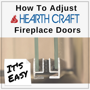 Learn how easy it is to adjust HearthCraft Fireplace Doors
