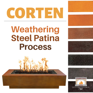 Corten Weathering Steel Patina Process