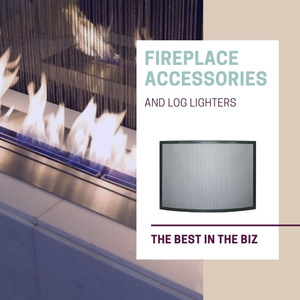 The Best Fireplace Accessories and Log Lighters