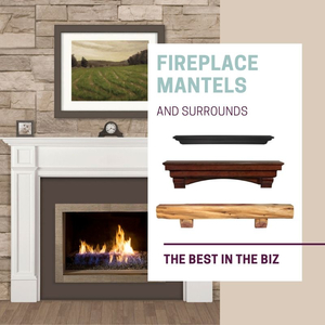 The Best Fireplace Mantels & Surrounds