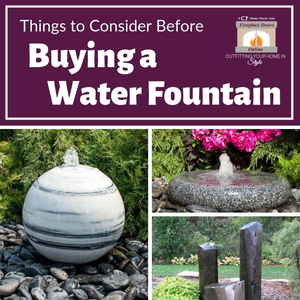 Things to Consider Before Buying a Water Fountain