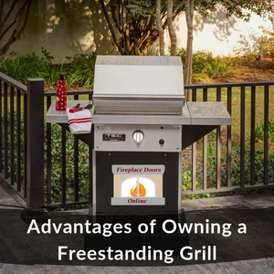 Advantages of Owning a Freestanding Outdoor Grill