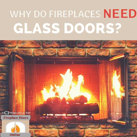 5 BIG Reasons You Need Fireplace Doors