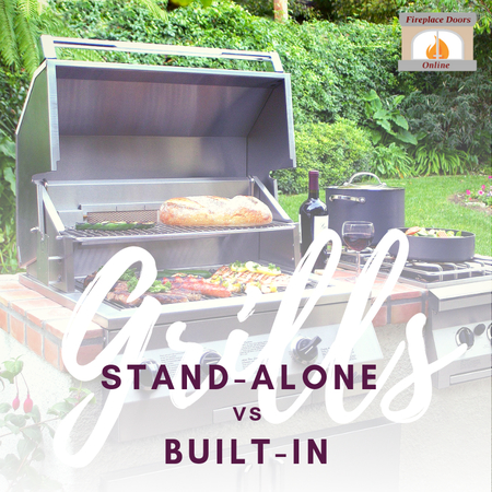 Stand-Alone Grills VS. Built-In Grills