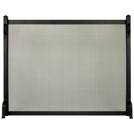 Colonial Single Panel Fireplace Screen