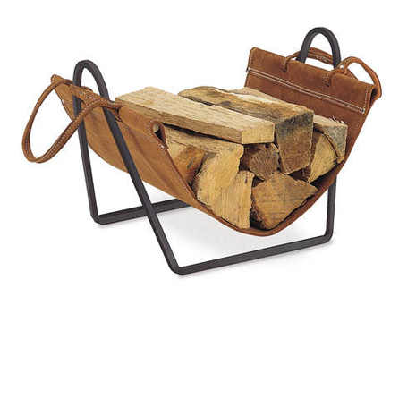 Pilgrim log carrier and frame