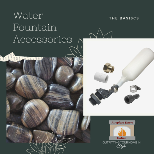 Basics of Outdoor Water Fountains and Their Accessories