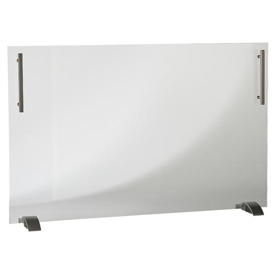 """38"""" Wide x 26"""" High Freestanding Glass Screen"""