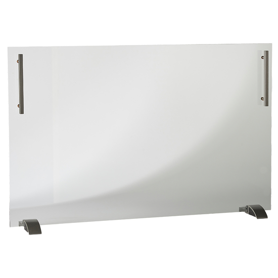 """41"""" Wide x 29"""" High Freestanding Glass Screen"""