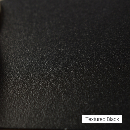 Textured Black Finish