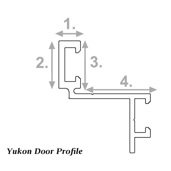 Yukon door profile