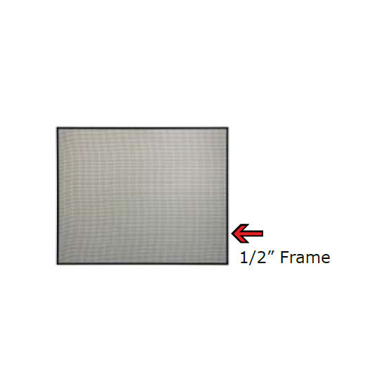 Glass Guard With 1/2 Inch Steel Frame