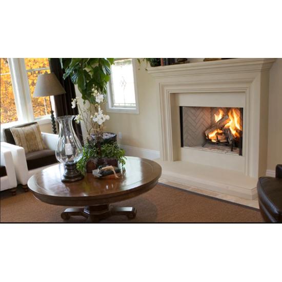Superior WRT3538 wood burning fireplace Room Setting