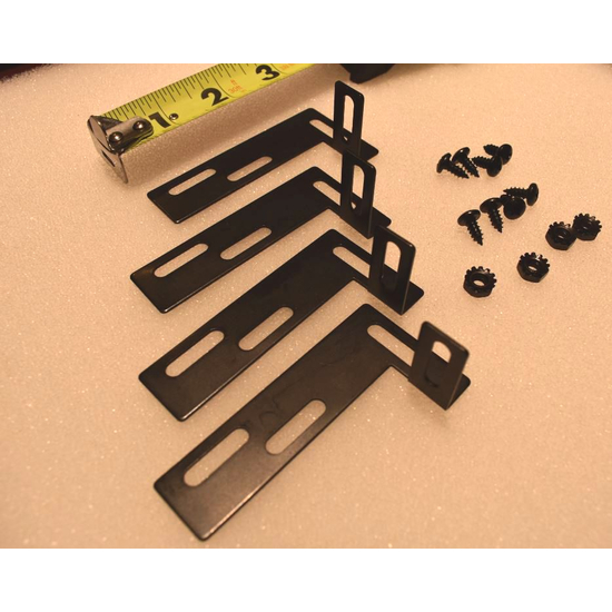 Prefab Fireplace Door Alternative Mounting Hardware Kit