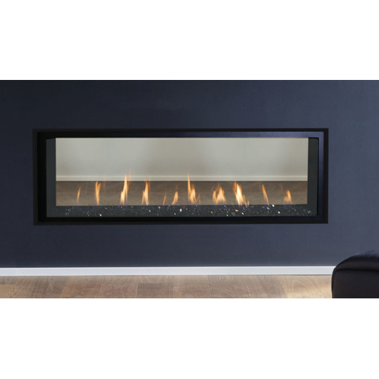 60 Inch DRL4060 Linear Direct Vent Gas Fireplace by Superior Fireplaces