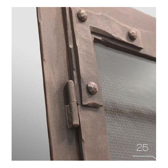Corner Detail Of Door Section